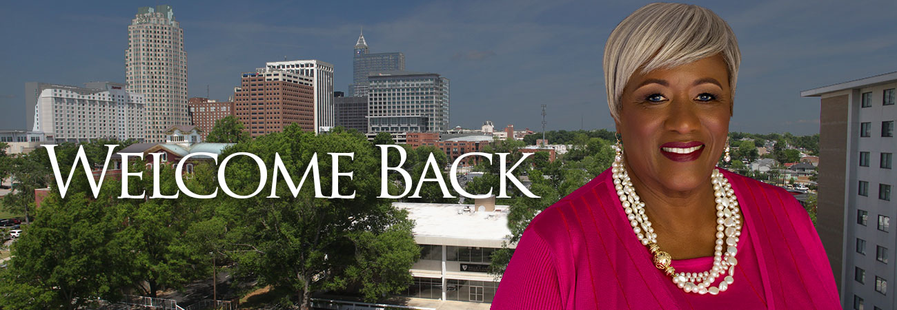 Welcome Back - President Dillard