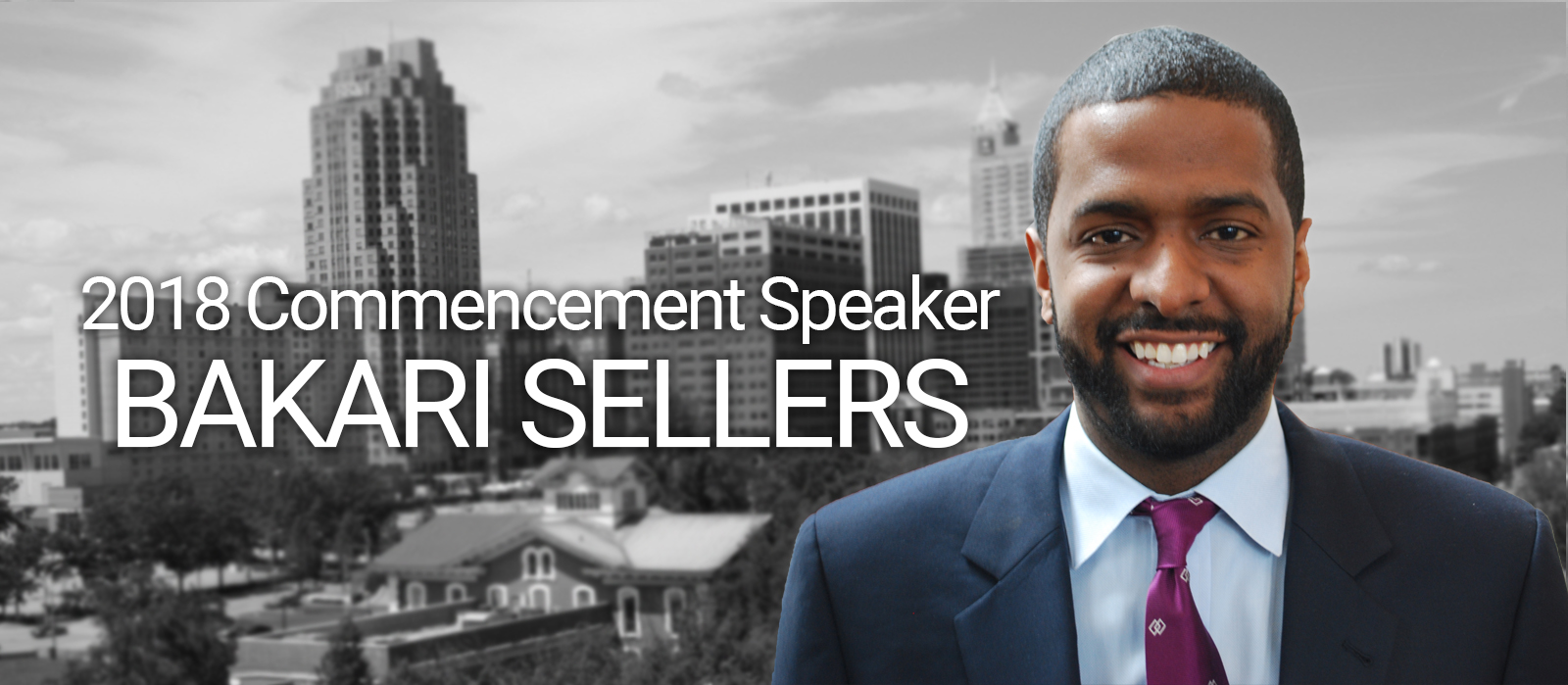 Bakari Sellars 2018 Commencement Speaker