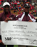 WSSU Booster Club Check Thumb