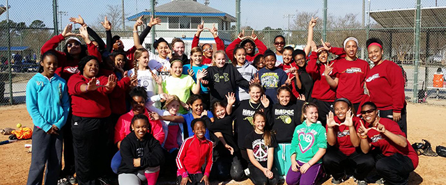 2014 Softball clinic