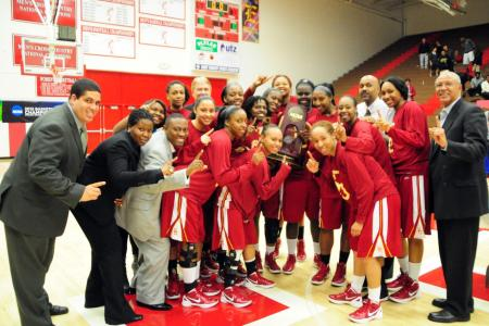 Lady Bears Elite Eight - 2012