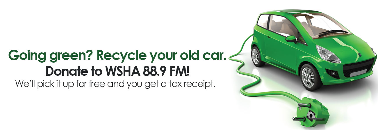 Donate Your Car to WSHA 88.9 FM